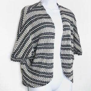 Mossimo Textured Open Front Cardigan